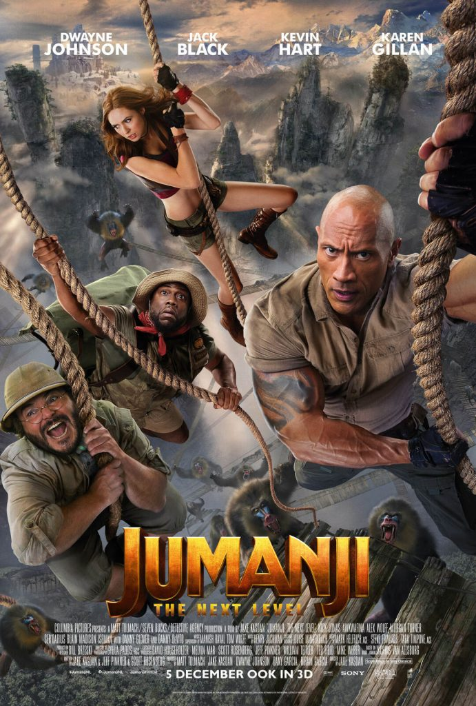 Jumanji:The Next Level 3D